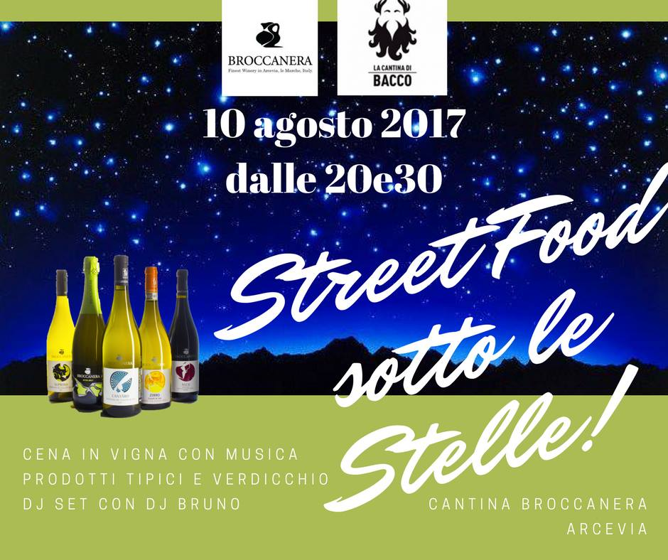 streetfood sotto le stelle